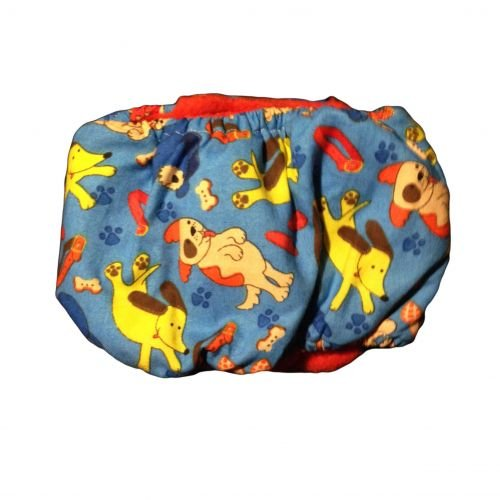 dreamy dog belly band - back