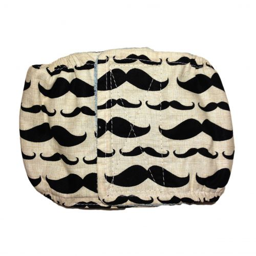 mustache belly band