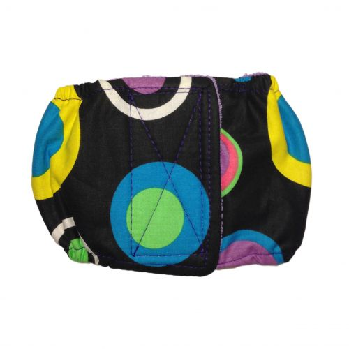 splendid color circle dot belly band