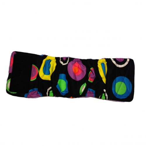 splendid color circle dot belly band - full