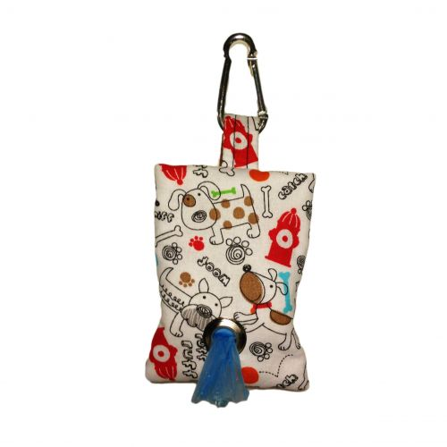 ruff ruff poop bag dispenser - front