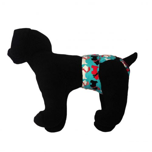holiday doggie diaper - model 1