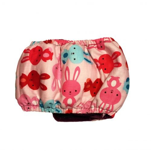 happy bunny belly band - back