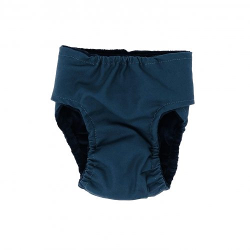 pacific turquoise diaper - back
