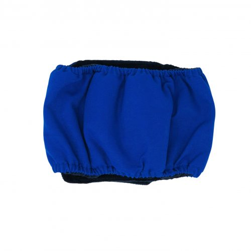royal blue belly band - back