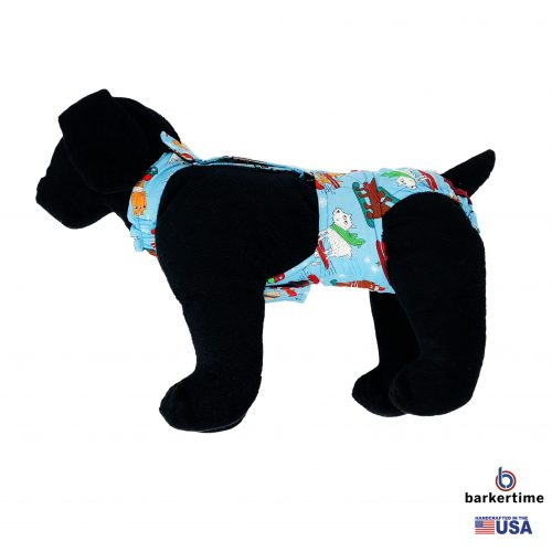 winter doggie diaper overall - new - model 1