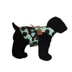 Brown Polka Dot Dog Dress