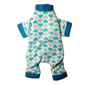 Chevron Heart Dog Pajama