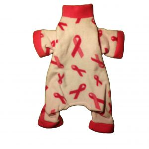 Pink Ribbon Dog Pajama