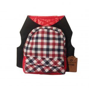Dog Backpack Plaid Barkerpack