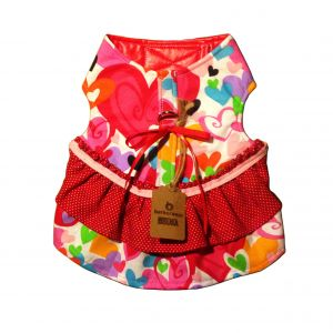 Sweet Heart Dog Dress