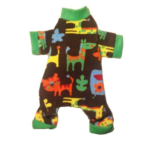 zoo animal pajama - front