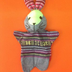 Bunny Hand Puppet – Unique Handmade Toy