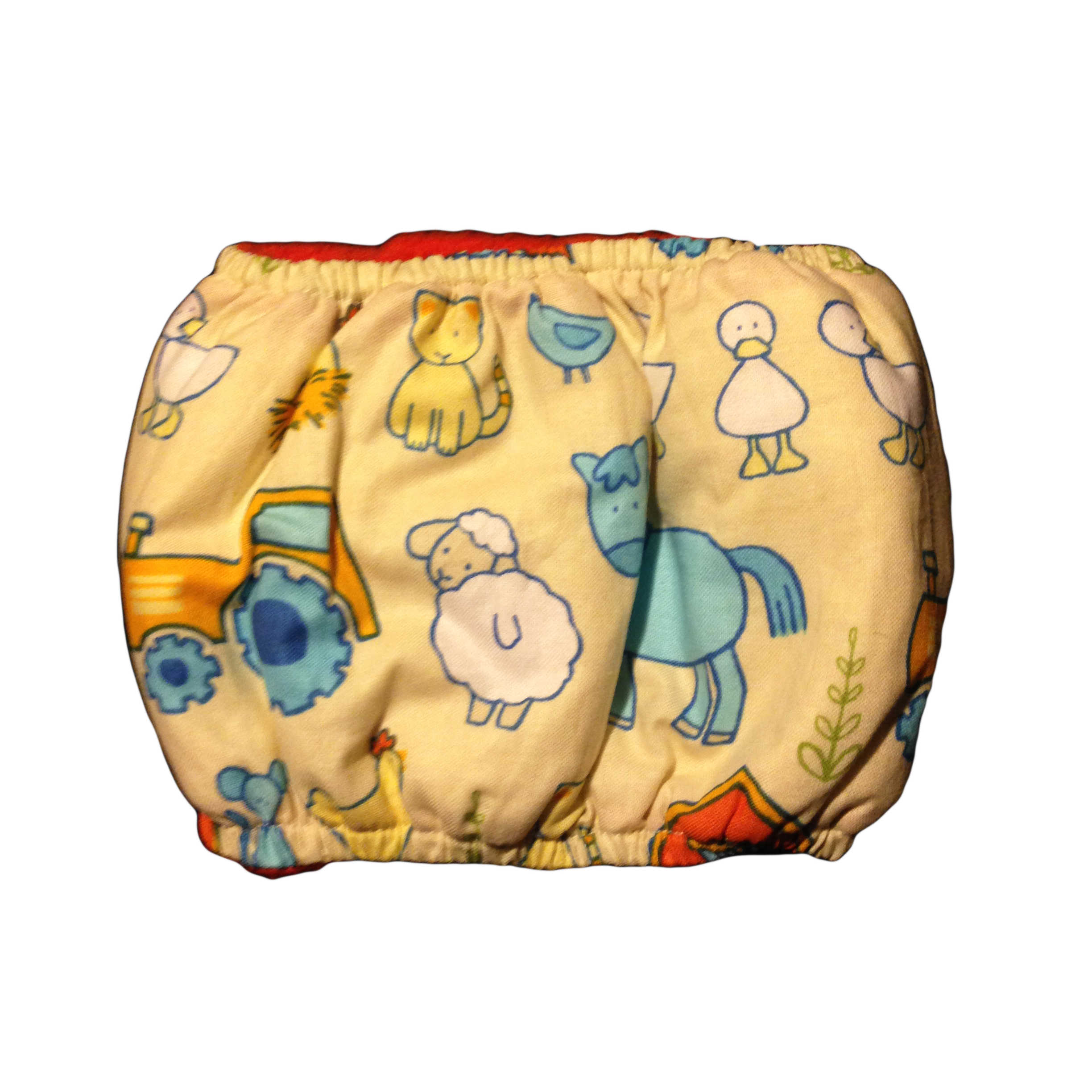 Barkertime Farm Animals Washable Dog Belly Band Male Wrap