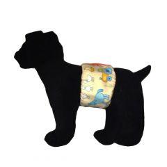 Farm Animals Washable Dog Belly Band Male Wrap