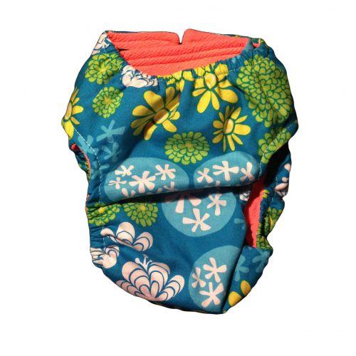 flower diaper 6 - back