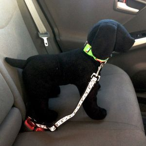Happy Cow Adjustable Car Safety Belt for Dogs