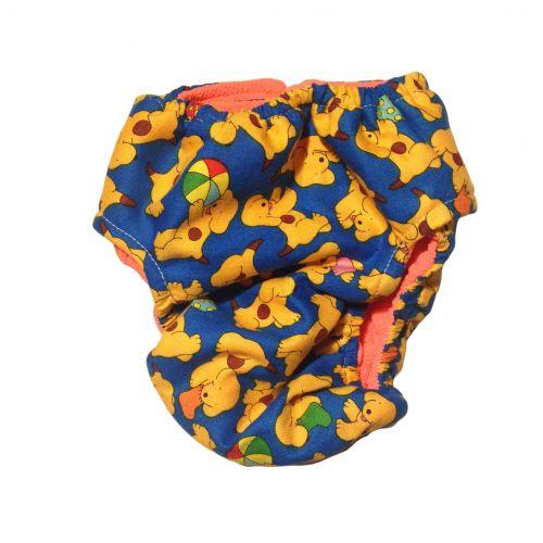 happy doggie diaper - back