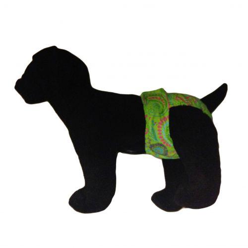 paisley diaper - model 1