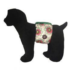 Passion Flower Washable Dog Belly Band Male Wrap