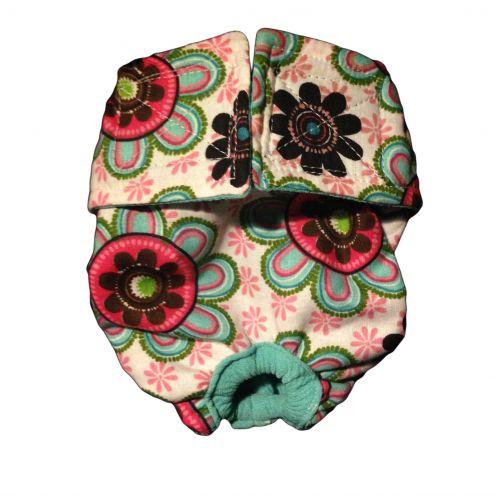 passion flower diaper