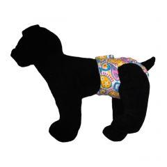 Pastel Paisley Washable Dog Diaper