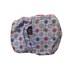 Paws and Bones Washable Dog Belly Band Male Wrap