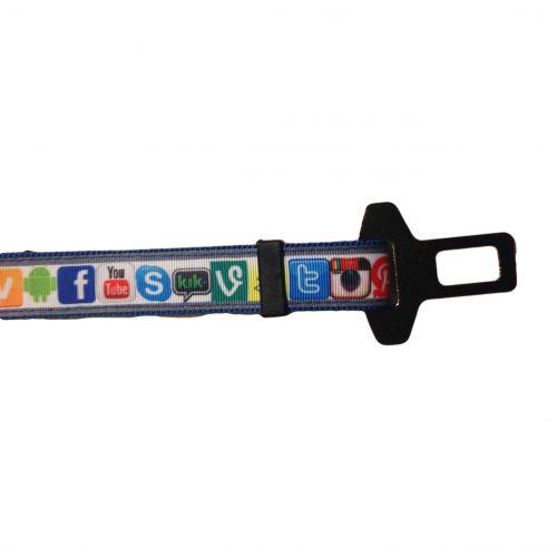 social media car safety belt - band 2