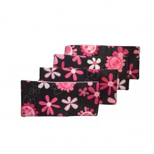 Floral Reusable Diaper Liners Value 4 Pack
