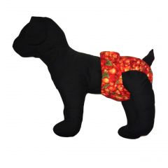Red Cherry Washable Dog Diaper