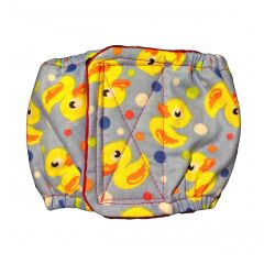 Duckie Washable Dog Belly Band Male Wrap