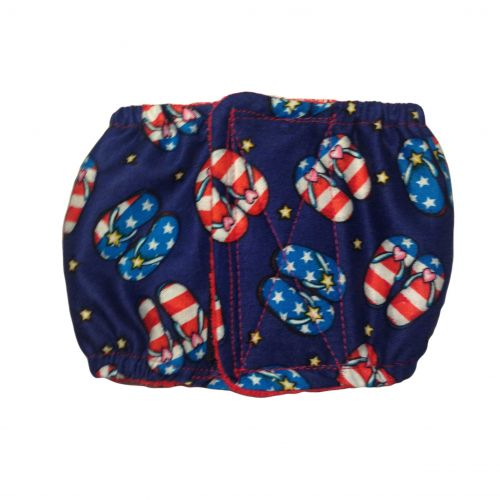 patriotic sandals belly band