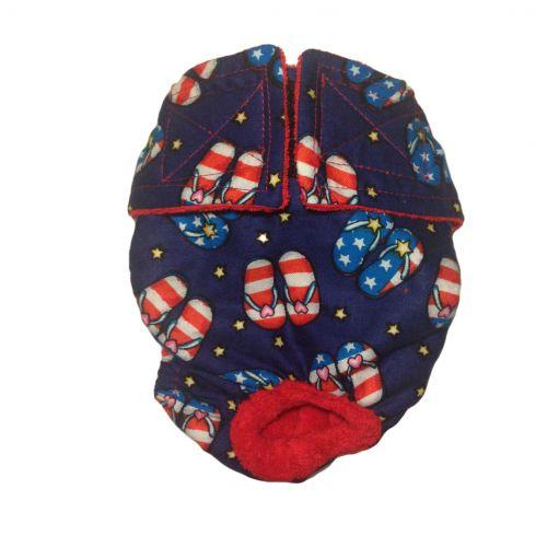 patriotic sandals diaper
