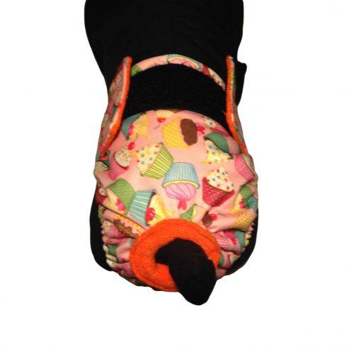 pul cupcakes diaper - model 2