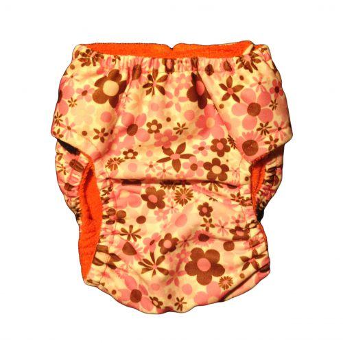 pul spring blossom diaper - back
