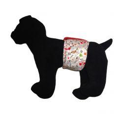 Ruff Ruff Washable Dog Belly Band Male Wrap