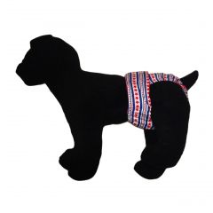 Stars and Stripes Washable Dog Diaper