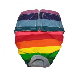 Pride Rainbow Washable Dog Diaper