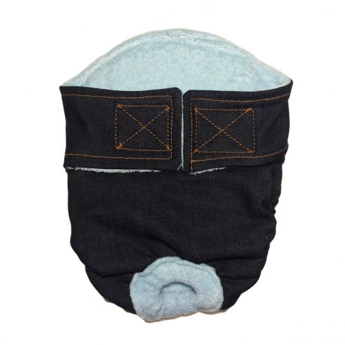 denim diaper