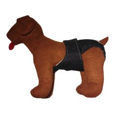 Denim Washable Dog Diaper for Male and Female Dogs
