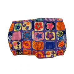 Flower Window on Purple Washable Dog Belly Band Male Wrap