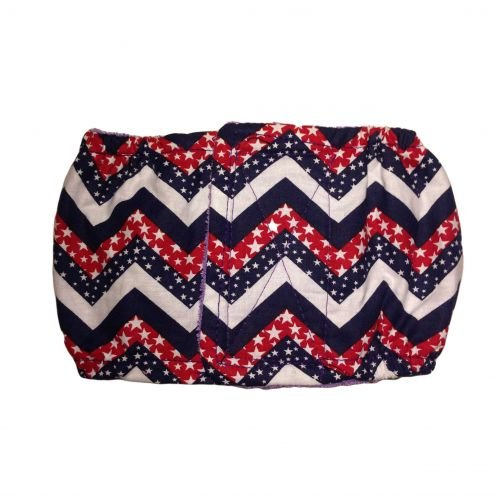 patriotic chevron belly band