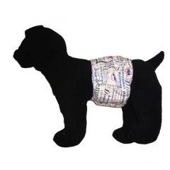 Blue Democrat Washable Dog Belly Band Male Wrap