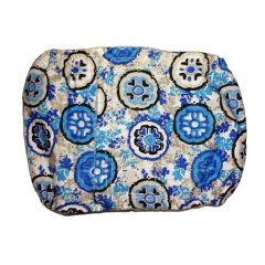 Blue Ocean Flower Washable Dog Belly Band Male Wrap