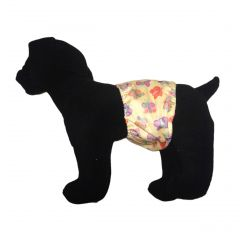 Butterfly Premium Waterproof PUL Washable Dog Belly Band Male Wrap