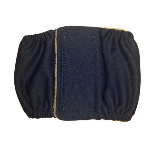 dark blue PUL belly band