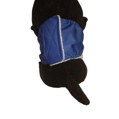 dark blue PUL belly band - model 2