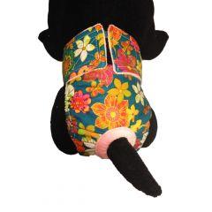 Four Seasons Flower Washable Cat Diaper
