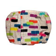 Multi Color Backsplash Washable Dog Belly Band Male Wrap