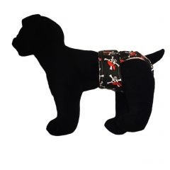 Crossbones Washable Dog Diaper